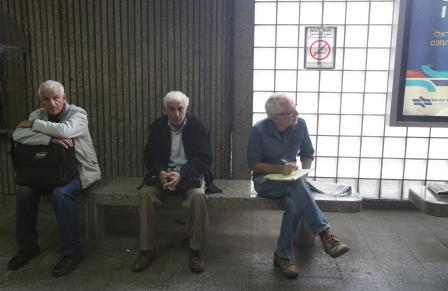יגאל סרנה רכבת. צילום: שאול גולן