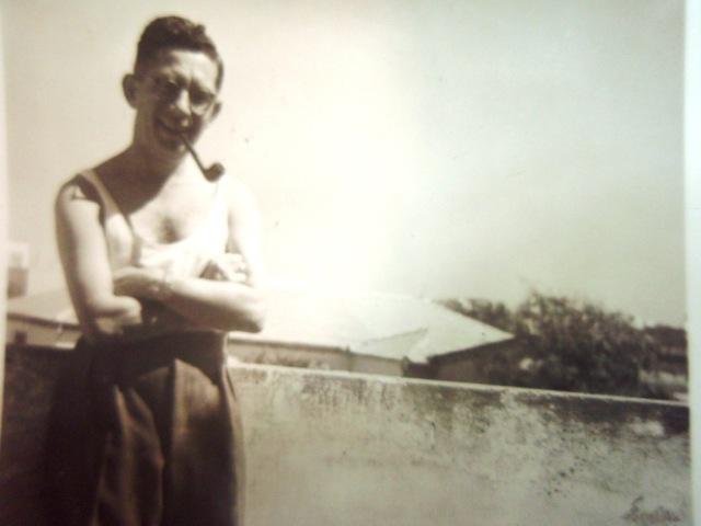 אבי. רחוב צבי ברוק. 1950